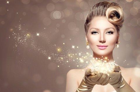 Arany és gyémánt arc-, nyak- és dekoltázsfiatalítás