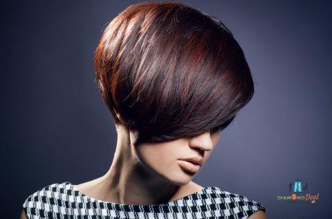 Hajvágás keratinos hajpakolással