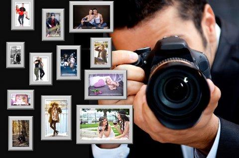 Választható témájú stúdió- vagy szabadtéri fotózás