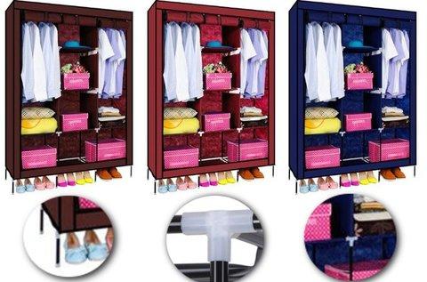 Mobil ruhásszekrény választható színben