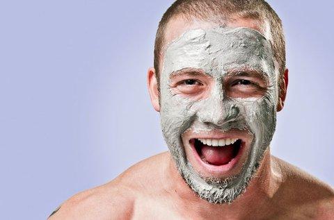 C-vitaminos, hidratáló arckezelés férfiaknak