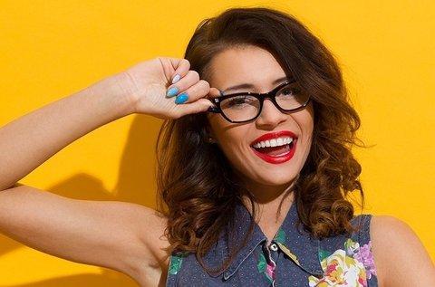 Multifokális szemüveg választható kerettel