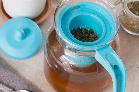 Bravissima Kitchen teafőző kanna szűrővel