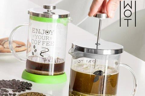Wagon Trend dugattyús teás és kávéskanna fedéllel