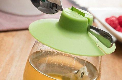 Tap Tap filtertartó szilikon teáscsésze fedő