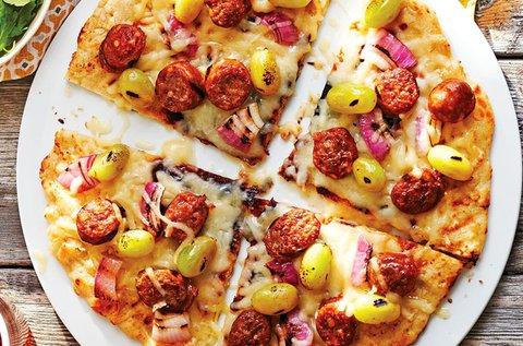 2 db választható pizza a Római-parton