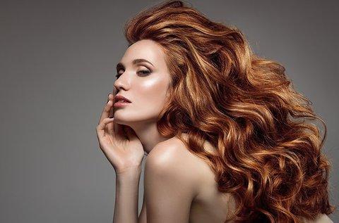 Női hajvágás mosással és intenzív hajpakolással