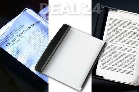 Energiatakarékos LED paneles olvasólámpa