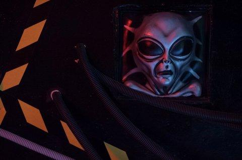 Alien Escape szabadulós játék 4-6 főre 60 percben