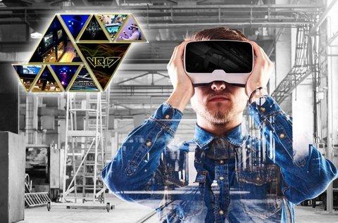 Virtuális valóság játék akár 4 fő részére 60 percben