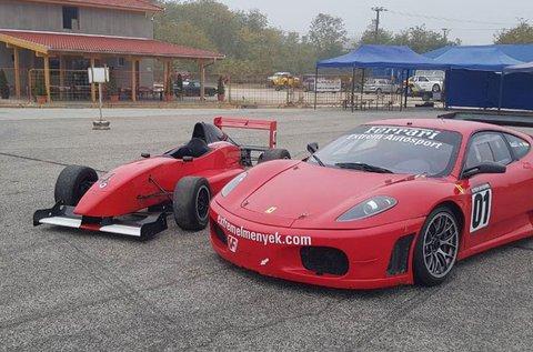 Vezess egy Formula Renault 2 versenyautót!