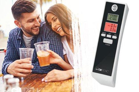 Clatronic alkohol teszter digitális LCD kijelzővel