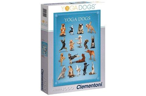 1000 db-os Clementoni jógázó kutyák puzzle