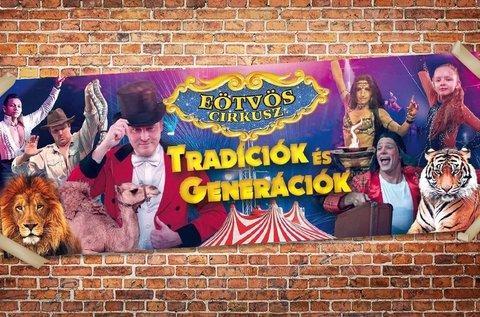 Páros belépő az Eötvös Cirkusz szülinapi előadására