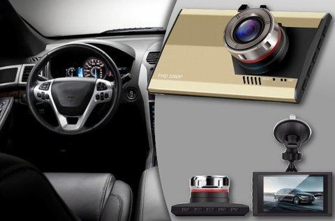 Ultra vékony FullHD autós biztonsági kamera