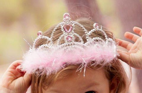 Hercegnő fejdísz kislányoknak