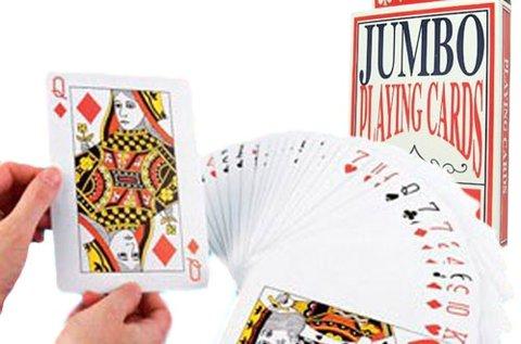 54 lapos Jumbo pókerkártya pakli