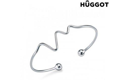Life Huggot állítható 925 sterling ezüst karkötő