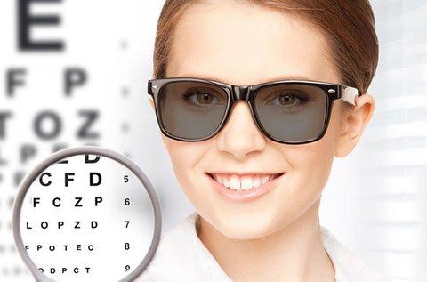 Komplett fényre sötétedő szemüveg készítés