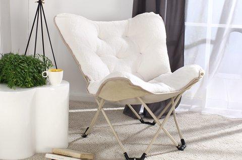 Cozy összecsukható szék bézs vagy szürke színben