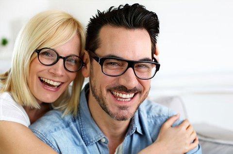 Komplett szemüveg 1,5-ös lencsével