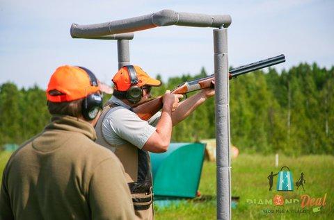 Koronglövészet 55 lövéssel, oktatással