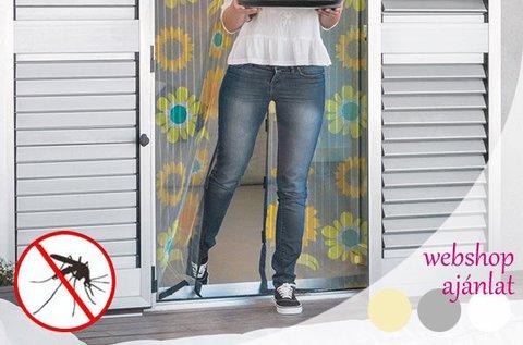 Mágneses rovarháló függöny ajtóra, ablakra