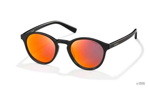 Polaroid unisex fekete napszemüveg