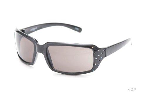Liz Claiborne női fekete acetát napszemüveg