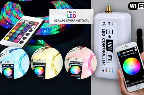 LED Remote Controller Wifi kapcsolattal