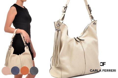 Carla Ferreri Valley rojtokkal díszített táska 5 színben