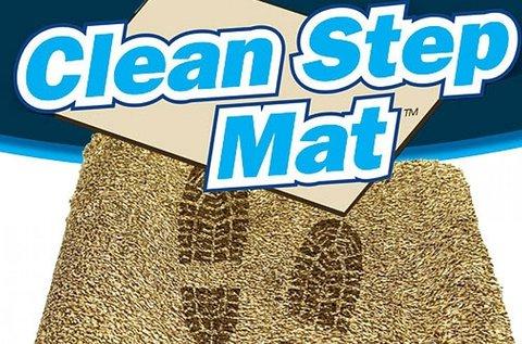 Clean Step Mat mikroszálas lábtörlő latex hátlappal