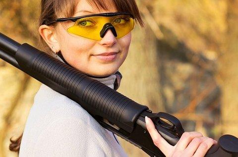 Élménylövészet 12 választható lőfegyverrel