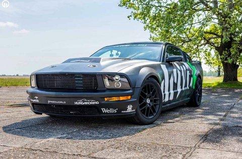 Vezess egy Ford Mustang Roush-t Kiskunlacházán!