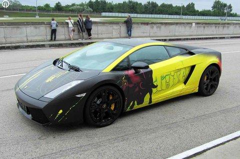 Lamborghini Gallardo LP 550-2 vezetés Örkényben