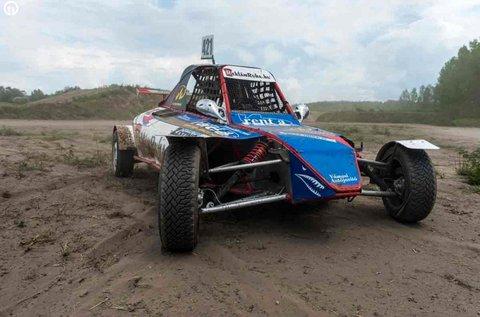 6 kör homokjáró Buggy versenyautó vezetés Gyálon