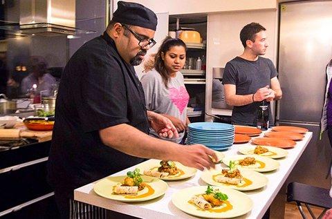 3 órás indiai főzőkurzus vacsorával