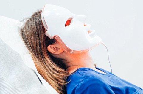 LED maszkos bőrfiatalítás