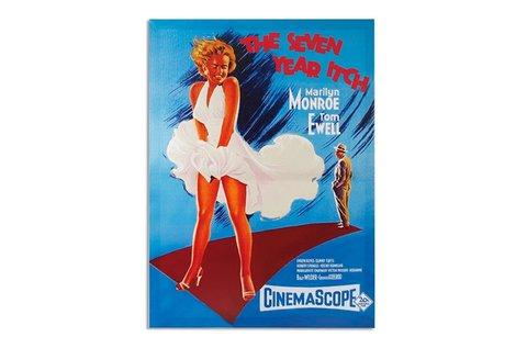 50x70 cm-es Marilyn Monroe plakát festővásznon