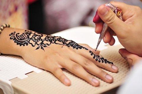 1 napos henna és csillámtetkó alaptanfolyam