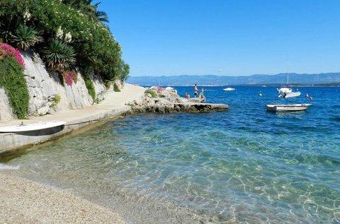 Családi nyaralás a Krk-szigeten, Malinskán