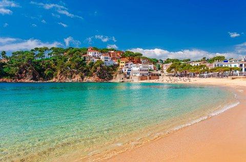 1 hetes lazítás repülővel a spanyol tengerparton