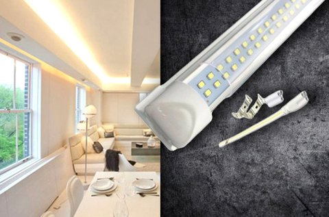 120 cm-es, 18 W-os dupla soros LED lámpa