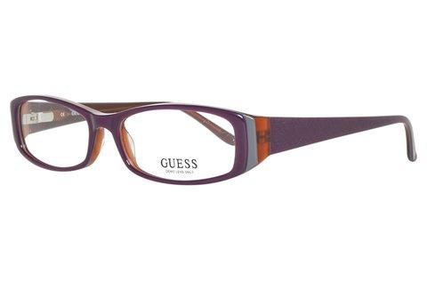 Divatos Guess női szemüvegkeret lila színben