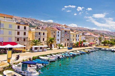 Családi nyaralás a gyönyörű horvát riviérán, Pag-on