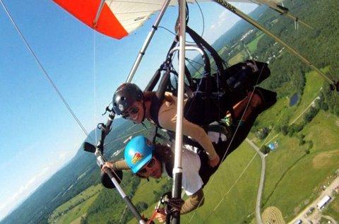 25 perces páros repülés motoros sárkányrepülővel