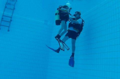 Próbamerülés az Aquaworld Resortban