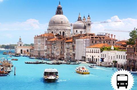 Buszos utazás a gondolák városába, Velencébe