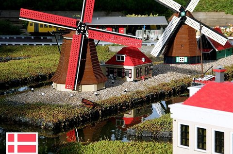 Gyermeknapi mókázás a dániai Legolandben
