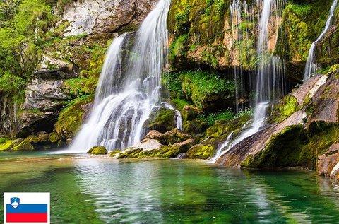 Vizes adrenalin canyoninggal Bovec-nél